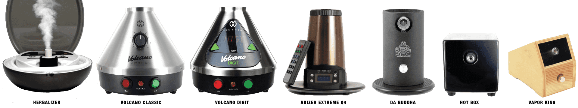 comparing plug-in vaporizers in size and shape