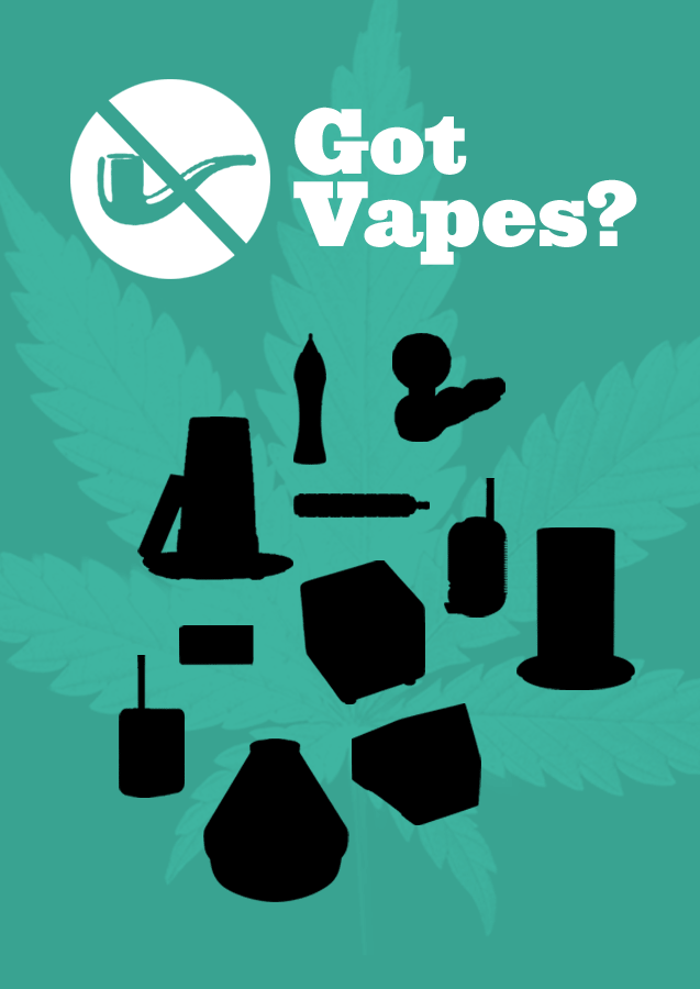 Got Vapes? The different shapes of vaporizers.