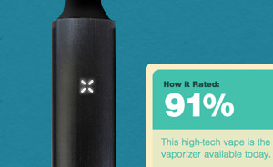 Pax vaporizer review: 91%